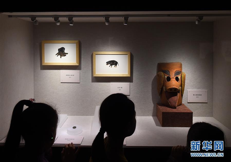 (文化)(5)南京博物院举办院藏猪文物展